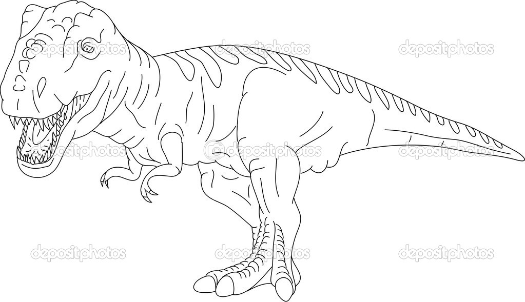 tyrannosaurus rex coloring pages to print coloring pages