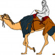 Vector de stock : Bedouin
