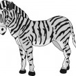 Zebra — Stock Vector #3761919