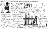 Organic Chemistry — Stock Vector