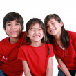 Three siblings — Stock Photo