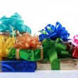 Royalty-Free Stock Photo: Colorful Christmas presents