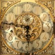 Elegant grandfather clock face — Foto Stock #2735704