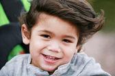Happy toddler boy — Stock Photo