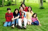 Famiglia multirazziale — Foto Stock