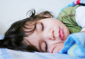 Beautiful sleeping boy — Stock Photo