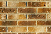 Brick wall in brown and beige hues. Neutral palette.; — Stock Photo
