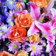 Stock Photo: Bouquet of vibrant flowers