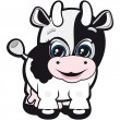 Royalty-Free Stock Vector Image: Little cow