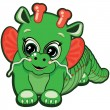 Royalty-Free Stock Vector Image: Little Dragon