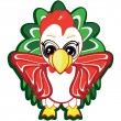 Little rooster - Stock Vector