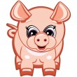 Little Pig — Stock Vector