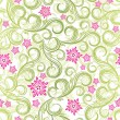 Royalty-Free Stock Imagen vectorial: Seamless floral background