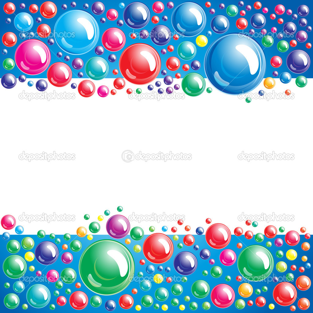 Bubble background - Stock Illustration