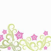 Spring floral backgroun — Stock Vector