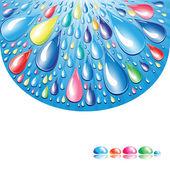 Water splash — Stock Vector