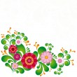Royalty-Free Stock Vector Image: Colorful flower. Floral background.