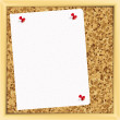 Vector. cork board. - Stock Vector