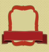 Vector Vintage frame. — Stock Vector