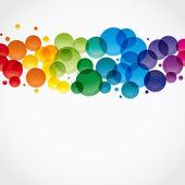Fondo colorido abstracto. vector. — Vector de stock