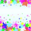 EPS10 star background - Grafika wektorowa