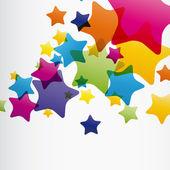 EPS10 star background — Stock Vector