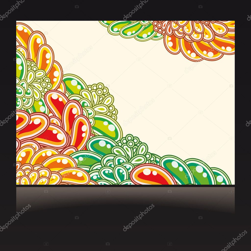 Illustration for your design  Stock Vector #3288418