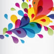 Eps10 Colorful splash — Stock Vector