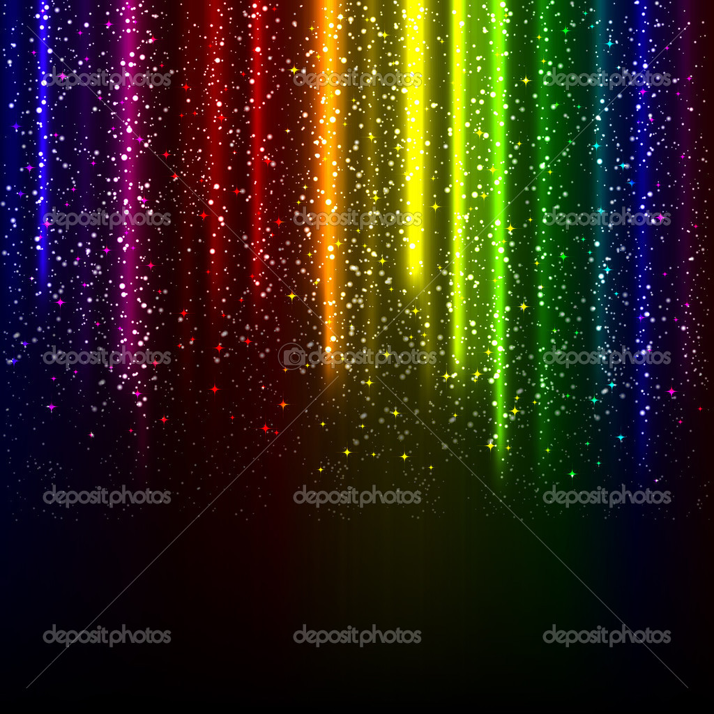 Abstract glowing background. Illustration for your design. — Stock Vector #3560316
