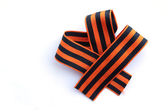 Unusual striped bow — Stock Photo
