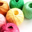 Yarn for handcraft — Stock Photo