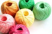 Yarn for handcraft — Stock Photo