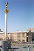 Maidan Nezalezhnosti, Kyiv — Stock Photo