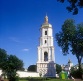 Belltower of St. Sophia cathedral. Kyiv, Ukraine. — Stock Photo