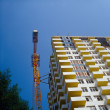 Under construction condo building. — Stock Photo #3819606