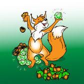 Wiewiórka — Wektor stockowy