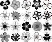 Flowers. — Stock Vector