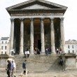France  Gard Nimes Maison de Carree — Stock Photo