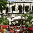 France Nimes Les Arenes — Stock Photo
