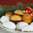 Chritmas breakfast — Stock Photo