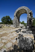 Saint Damian's Arch - Carsulae (IT) — Stock Photo