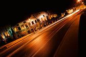 Coliseum at night — Stock Photo