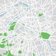 Royalty-Free Stock Vector Image: Vector illustration map of Paris