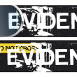 Crime Themed Banners - Foto de Stock