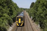 Diesal tåg — Stockfoto