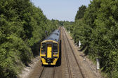 Tren diesal — Foto de Stock