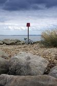Bicycle and Beach — Stock Photo