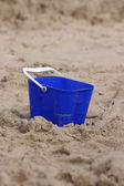 Blue Bucket — Stock Photo
