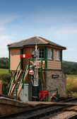 Signal box — Stock Photo