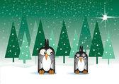 冰皮月饼企鹅 — 图库照片